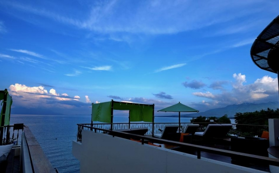 Rooftop di CAPA Resort Maumere
