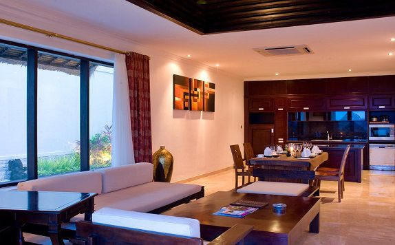 LivingRoom di Chateau de Bali Ungasan Boutique Villas and Spa