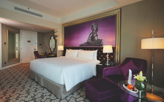Tampilan Bedroom Hotel di Ciputra Golf & Family Club