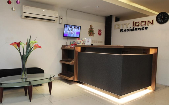 Resepsionis di City Icon Residence