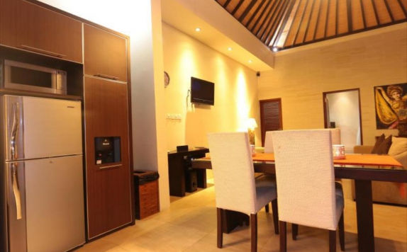 kitchen di CK Luxury Villas Bali