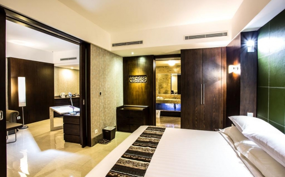 Guest room di Crown Victoria Hotel