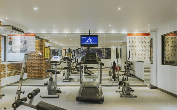 Fitness Center di Dash Hotel Seminyak
