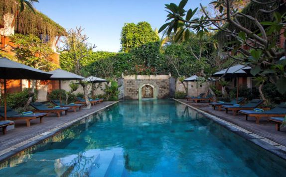swimming pool di Dbulakan Boutique Resort Ubud