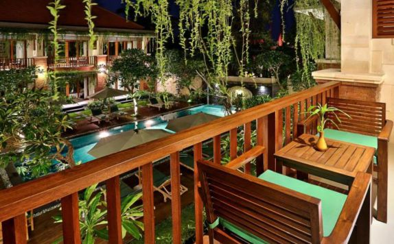 teras di Dbulakan Boutique Resort Ubud