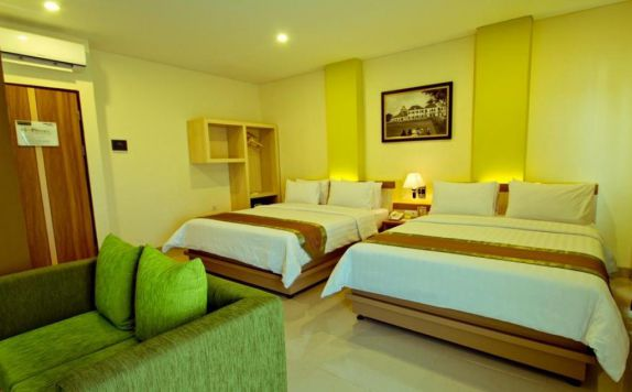 guest room twin bed di De Batara