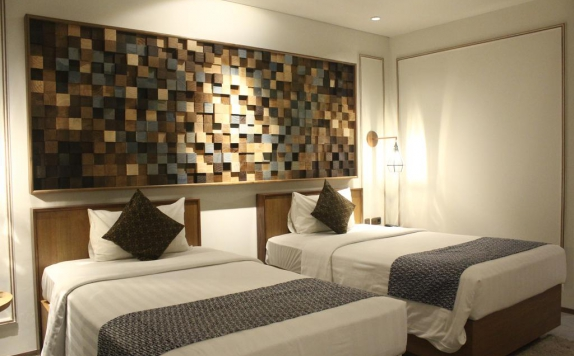 guest room twin bed di de JAVA Hotel Bandung