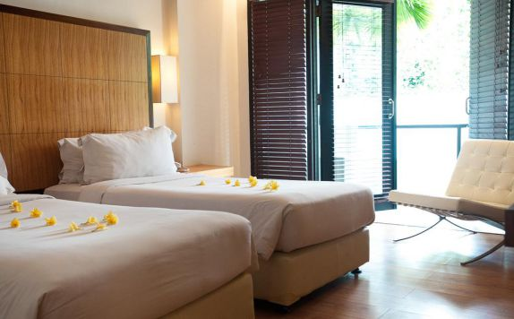 guest room twin bed di Dekuta