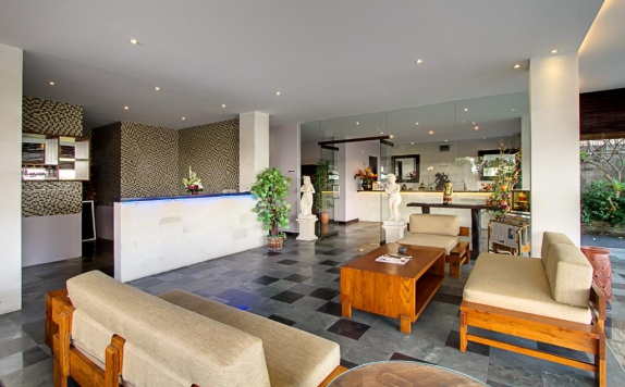 Lobby di De Uma Lokha Luxury Villas and Spa