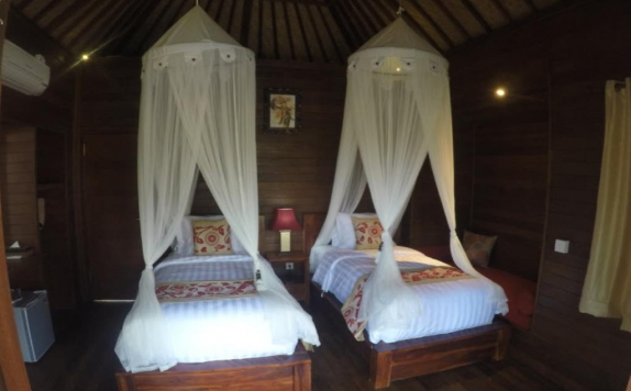 Guest room Twin Bed di Dream Beach Cottages