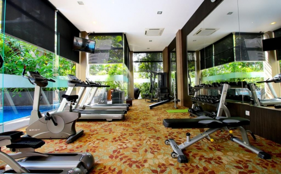 Gym and Fitness Center di Eastparc Hotel Yogyakarta