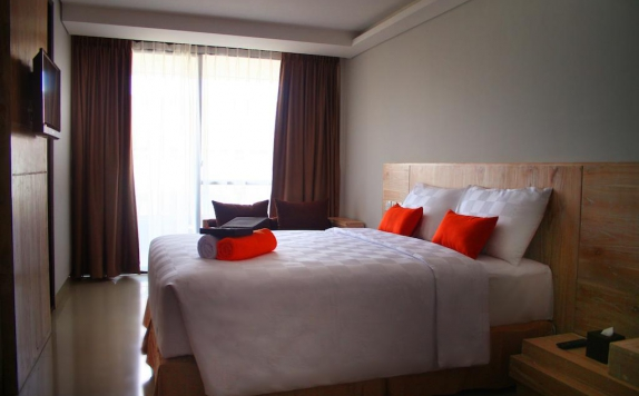 Tampilan Bedroom Hotel di Edelweiss Boutique