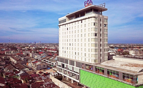Top view di FOX Harris Hotel Pekanbaru