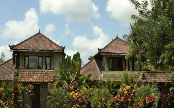 exterior di Garden View Cottages Ubud