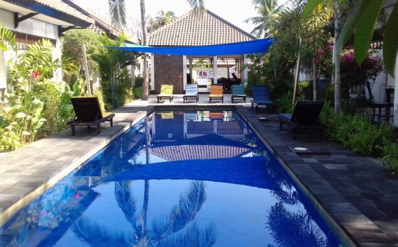 Swimming Pool di Gili Palms Resort