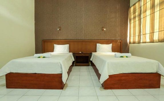 twin bed room di Giri Putri Hotel Lombok