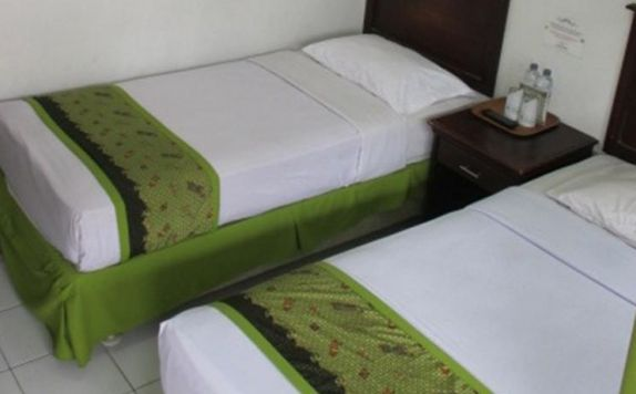 guest room twin bed di Gloria Amanda Hotel