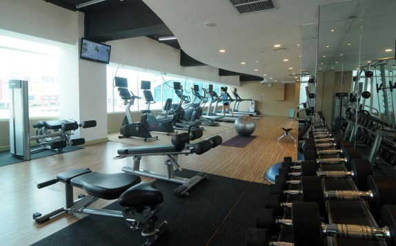 Gym di Golden Tulip Galaxy Banjarmasin
