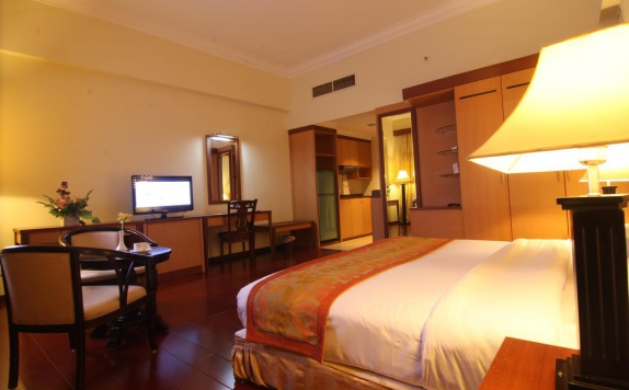 Guest room di Golden View Hotel