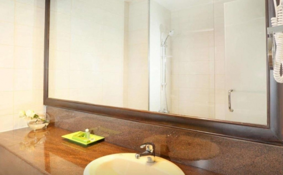 Bathroom di Goodway Hotel Batam