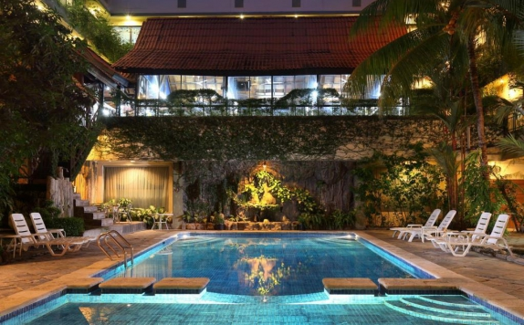 Swimming Pool di Goodway Hotel Batam