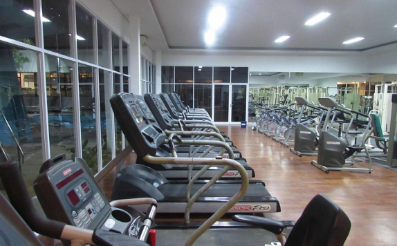Gym di Graha Residen Serviced Apartments