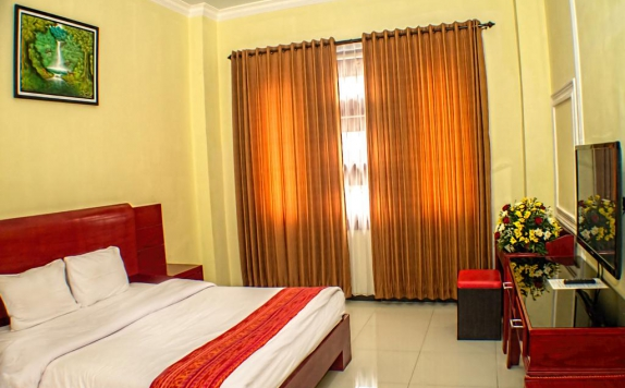 Guest room di Grand City Hotel Batu