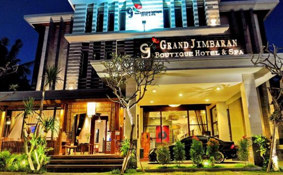 Eksterior di Grand Jimbaran Boutique Hotel & Spa