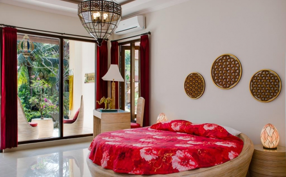 Guest room di Green Field Hotel and Restaurant