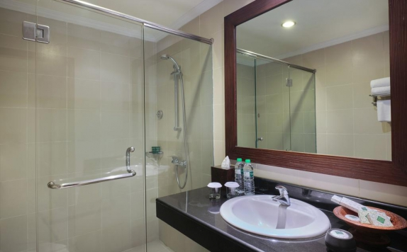Tampilan Bathroom Hotel