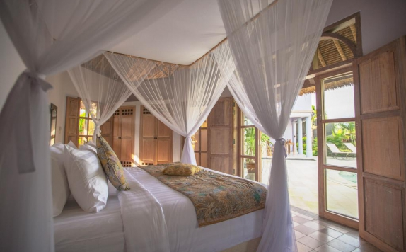 Bedroom di Hacienda Villas Canggu