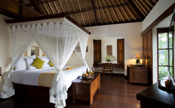 guest room di Hanging Gardens Ubud Hotel