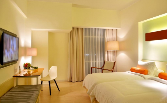 Guest room di Harris Hotel and Convention Bekasi