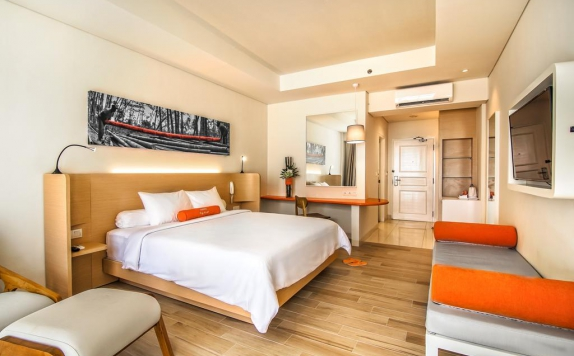 Guest room di Harris Resort Waterfront Batam