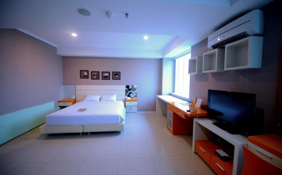 bedroom di High Point Serviced Apartment