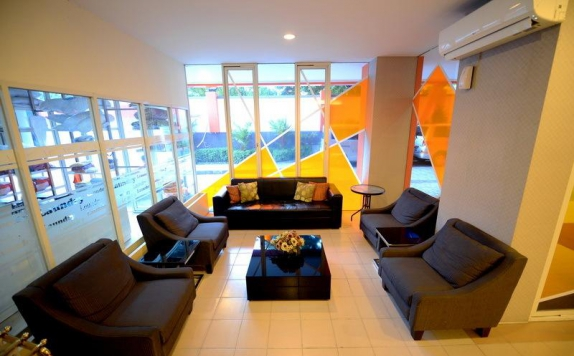 lounge di High Point Serviced Apartment