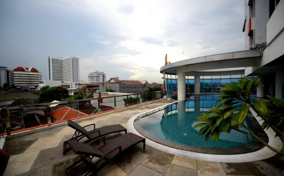 Swimming Pool di High Point Serviced Apartment