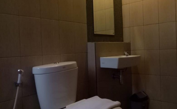 Bathroom di Hostel Dago 22