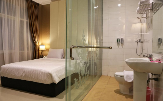 Bathroom di Hotel 55
