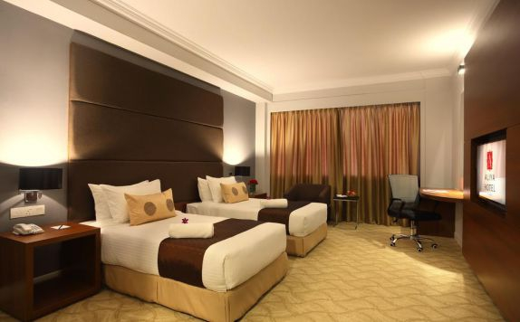Guest room di Hotel Alliya