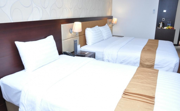 Guest Room Twin Bed di Hotel Horison Ultima Palembang