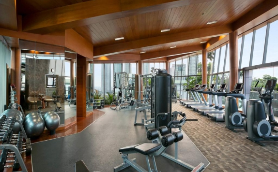 Gym di Hotel Indonesia Kempinski
