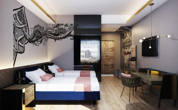 Guest room di Hotel Luminor Sidoarjo