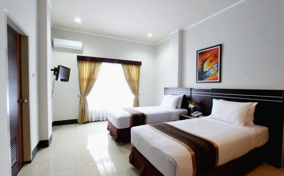 Bedroom di Hotel Maktal