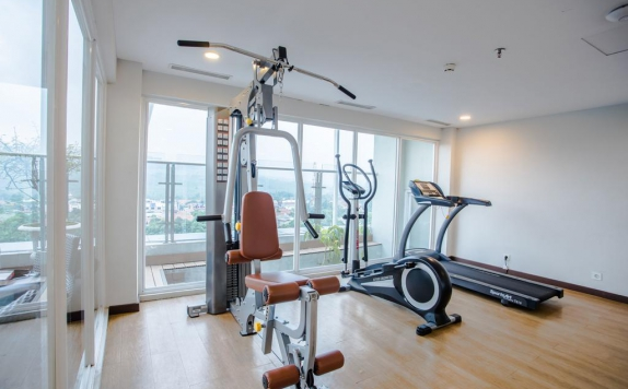 Gym and Fitness Center di Hotel Olympic Renotel