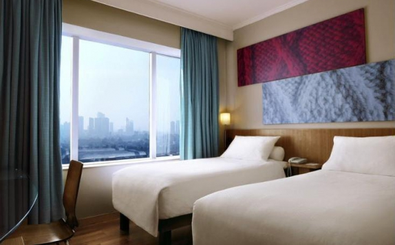 Guest Room Twin Bed di Ibis Slipi