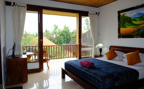 Tampilan Bedroom Hotel di Jati 3 Bungalows