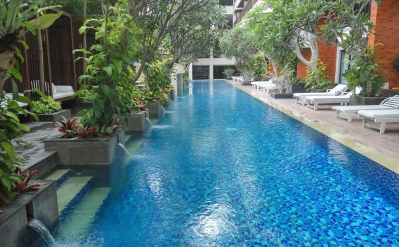 Swiming Pool di Jati Cottages