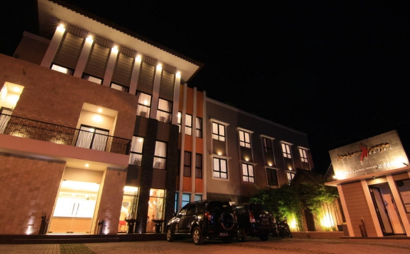 Front view di Jentra Dagen Hotel