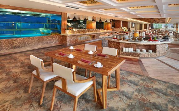 interior di Jimbaran bay beach